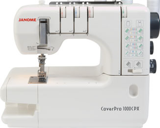 Janome 2000CPX Cover Stitch Machine - Click Image to Close