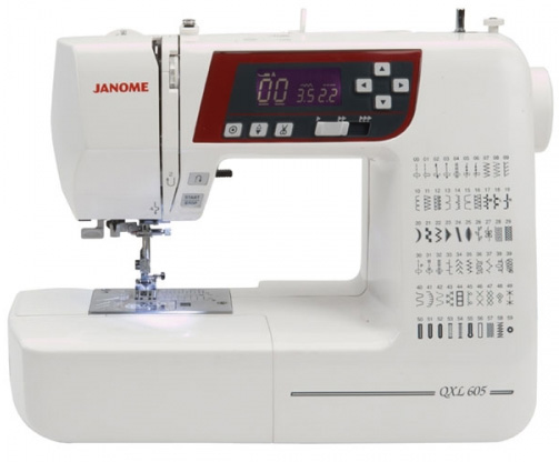 Janome QXL605 - Click Image to Close